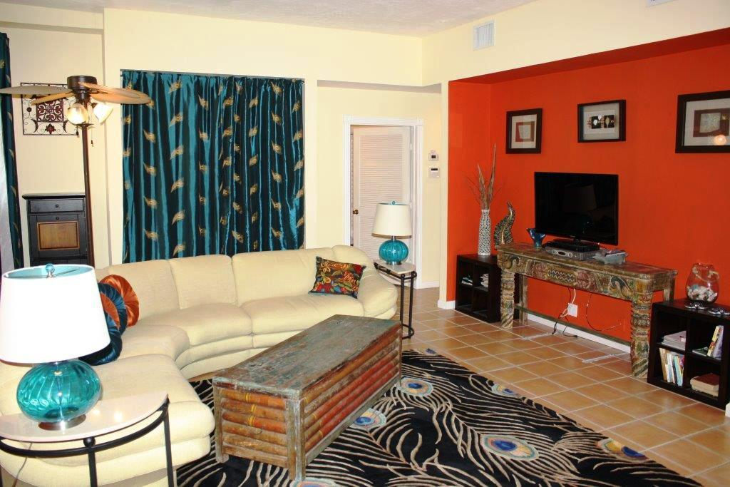 Photo of living room of 713 Whitehead Street in Key West, Florida