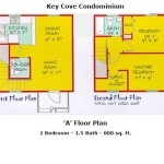"Key Cove ""A"" floor plan"