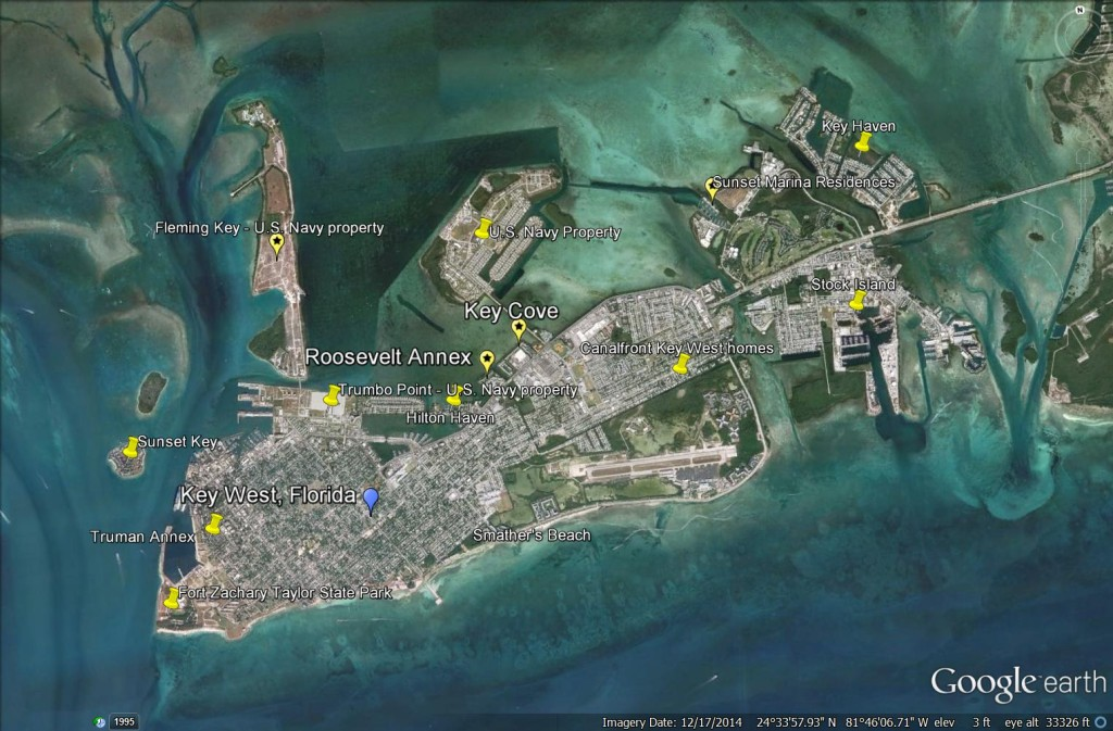Waterfront homes key west