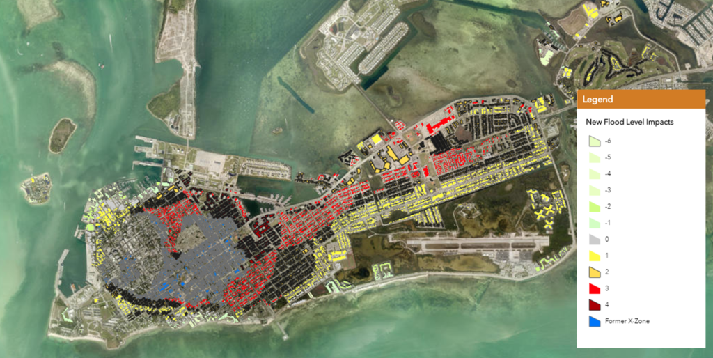Key West Flood Map draft changes